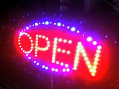Ye, we're open!